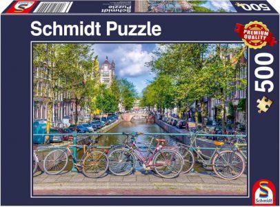 Schmidt Puzzle 500 Pcs Amsterdam 58942