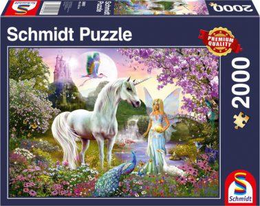 Schmidt Puzzle 2000 Pcs Νεράιδα και Μονόκερος 58951