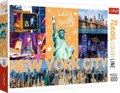 Trefl Puzzle 1000 Pcs Neon Color New York 10579
