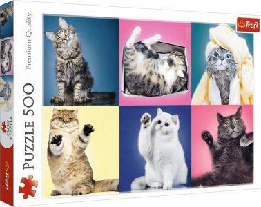 Trefl Puzzle 500 Pcs Kittens 37377