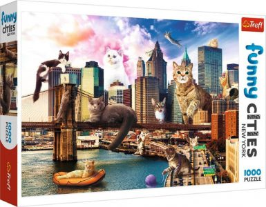 Trefl Puzzle 1000 Pcs Kittens in New York 10595