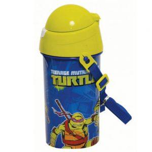 GIM Παγούρι Πλαστικό Turtles Mash Up 500ml 555-44209