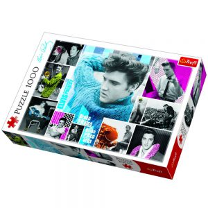 Trefl Puzzle 1000 Pcs Elvis Presley, Forever Young 10541