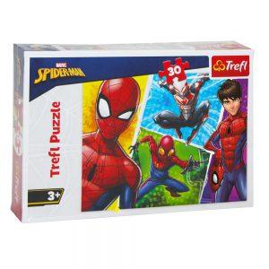 Trefl Puzzle 30 Pcs Spiderman 18242