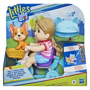 Hasbro – Littles by Baby Alive Roll 'n Pedal Trike E7410