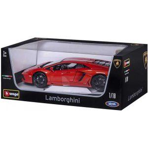 Burago ΜΕΤΑΛΛΙΚΟ ΑΥΤΟΚΙΝΗΤΟ 1/18 Lamborghini Aventador LP 700-4 18-11033