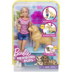 Mattel Barbie Και Τα Νεογέννητα Κουταβάκια FDD43