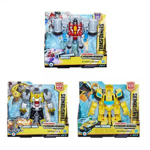 Hasbro Transformers Cyberverse Action Attackers Ultra Class – 4 Σχέδια E1886
