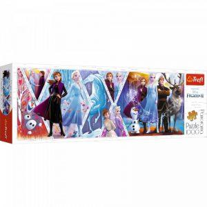 Trefl Puzzle1000 Pcs Panorama Disney Frozen II 29048