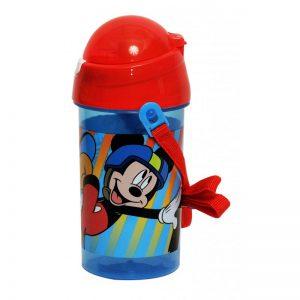 GIM Παγούρι Πλαστικό Mickey Skate 500ml 553-48209