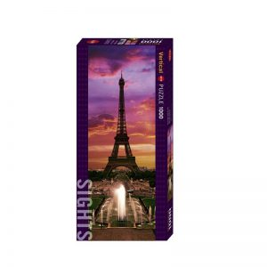 Heye Puzzle 1000 Pcs – Vertical Sights – Eiffel Tower, Paris 29551
