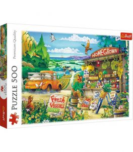Trefl Puzzle 500 Pcs Morning in the Country 37352