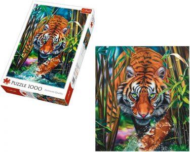 Trefl Puzzle 1000 Pcs Tiger 10528