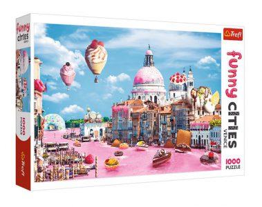 Trefl Puzzle 1000 Pcs Sweets in Venice 10598