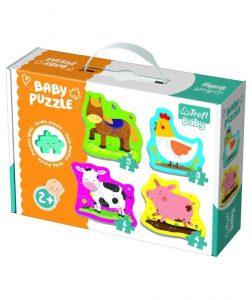 Trefl Baby Puzzle 18 Pcs Little Animals on the Farm 36070