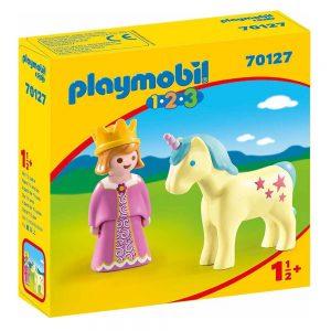 Playmobil 1.2.3 – Πριγκίπισσα Με Μονόκερο 70127