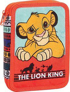 Gim Κασετίνα Διπλή Γεμάτη Lion King 331-60100