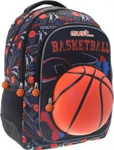 Must Τσάντα Πλάτης Basketball Ball 579804