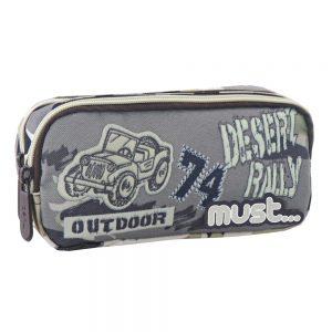 Must Κασετίνα Με Διπλό Φερμουάρ Energy Jeep 579783
