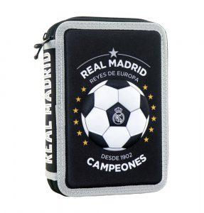 Diakakis Κασετίνα Διπλή Γεμάτη 3D Real Madrid Campeones 170810
