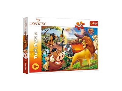 Trefl Puzzle 100 Pcs The Lion King Simbas 16359