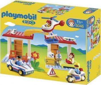 Playmobil 1.2.3 Αστυνομία + Παιδιατρείο (5046)