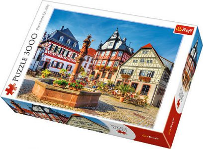 Trefl Puzzle 3000 Pcs Market Square, Heppenheim, Germany 33052