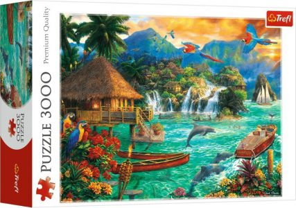 Trefl Puzzle 3000 Pcs Pieces Island Life 33072