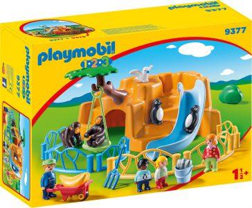 Playmobil 1.2.3 Ζωολογικός Κήπος 9377