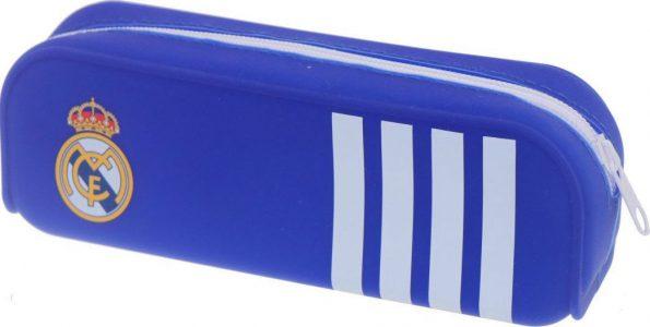Diakakis Κασετίνα Σιλικόνης Μπλε Με Λευκές Ρίγες Real Madrid 170574