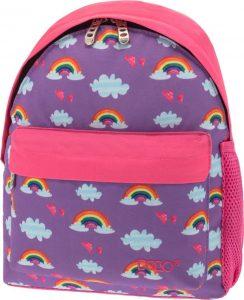 Polo Τσάντα Πλάτης Νηπιαγωγείου Mini Rainbow 2019 9-01-067-71