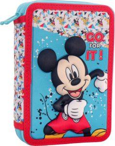 Diakakis Κασετίνα Διπλή Γεμάτη 3D Mickey Mouse 562543