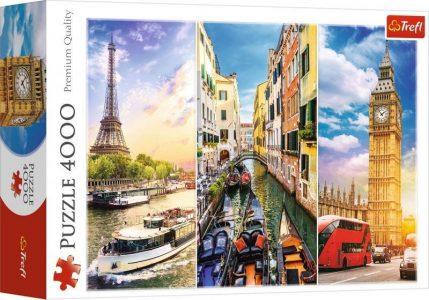 Trefl Puzzle 4000 Pcs Trip in Europe 45009