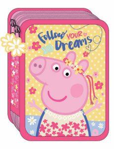 Diakakis Κασετίνα Διπλή Γεμάτη Peppa Pig 482402