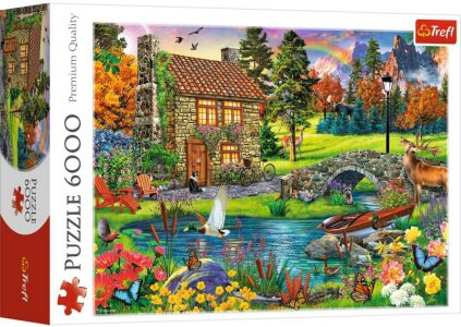 Trefl Puzzle 6000 Pcs Cottage in the Mountains 65006