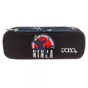 Polo Κασετίνα Με Διπλό Φερμουάρ Glow In The Dark Troller Ninja 2019 9-37-251-71