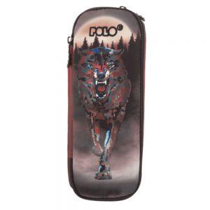 Polo Κασετίνα Με Διπλό Φερμουάρ Glow In The Dark Expand Wolf 2019 9-37-254-30