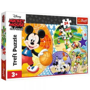 Trefl Puzzle 24 Pcs Mickey Time For Sports 14291
