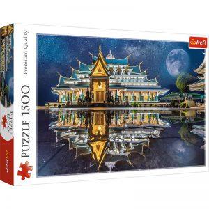 Trefl Puzzle 1500 Pcs Wat Pa Phu Kon, Thailand 26141