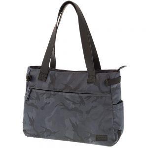 Polo Τσάντα Ώμου Lady Military Shopper Γκρι 9-07-154-09