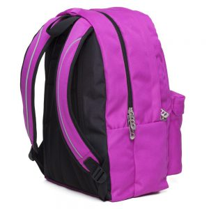 Polo Double Τσάντα Πλάτης Με Μαντήλι Μωβ 2020 9-01-235-24+ Δώρο Διορθωτική Ταινία Edding