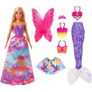 Mattel Barbie Πριγκίπισσες – Παραμυθένια Εμφάνιση (Σετ Δώρου) GJK40
