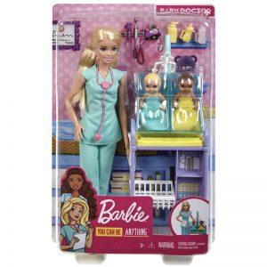 Mattel Barbie Παιδιατρος (GKH23)