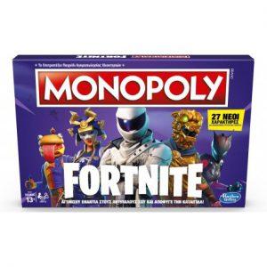 Hasbro – Επιτραπέζιο – Monopoly Fortnite Ελληνική Εκδοση E6603