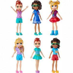 Mattel Polly Pocket Κούκλα Με Αξεσουάρ – 20 Σχέδια FWY19
