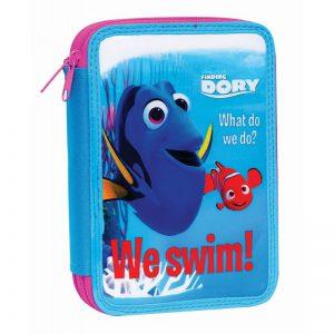 Gim Κασετίνα Διπλή Γεμάτη Finding Dory-Nemo 341-80100