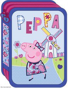 Diakakis Κασετίνα Διπλή Γεμάτη Peppa Pig 482303