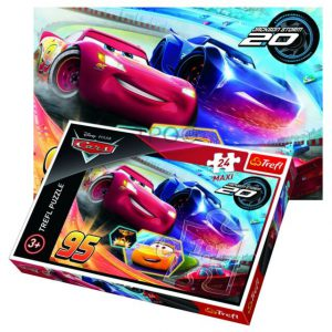 Trefl Puzzle 24 Pcs Let The Best Driver Win 14264