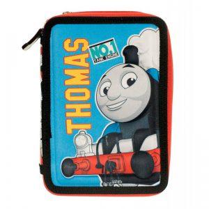 Diakakis Κασετίνα Διπλή Γεμάτη 3D Thomas The Train 570445