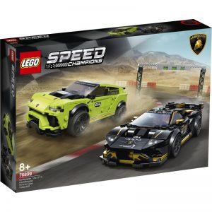 Lego Speed Champions Lamborghini Urus ST-X & Lamborghini Huracan Super Trofeo EVO 76899